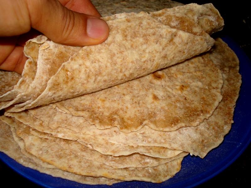 Curiosidades nutritivas tortillas mexicanas de harina de - Harina integral de trigo ...