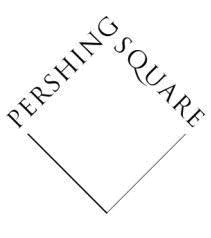 Pershing Square run by William Ackman
