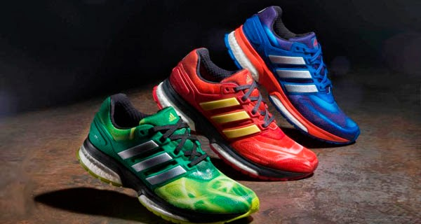 """Zapatillas Adidas basadas en """"Vengadores: La Era de Ultrón"""""""