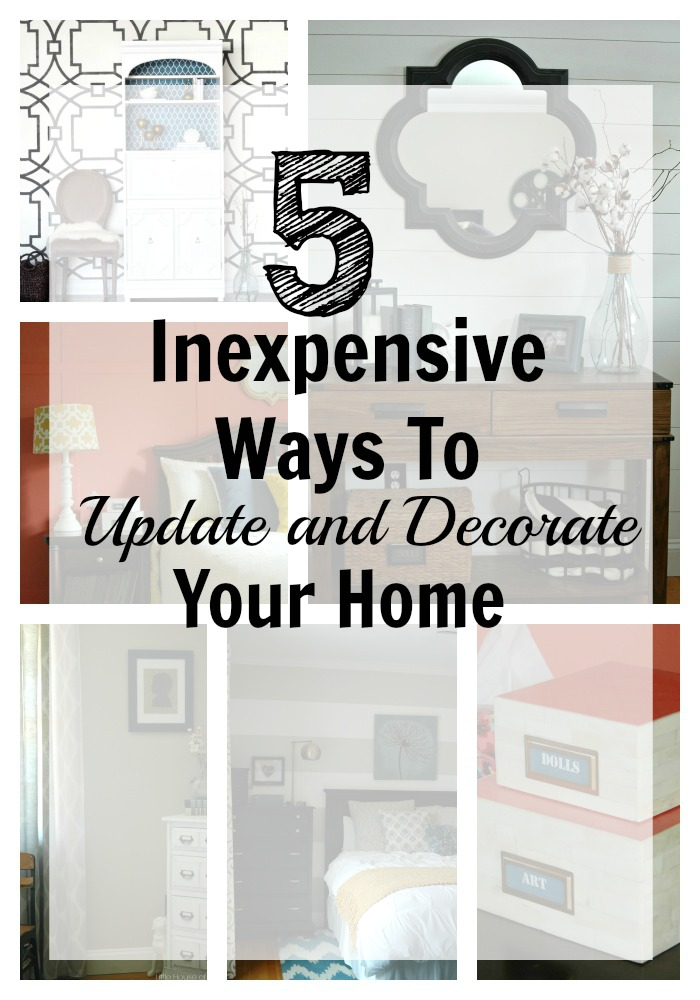 5 Inexpensive Ways To Update And Decorate Your Home: cheap easy ways to decorate your home