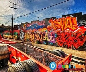 Kota grafiti terkeren didunia