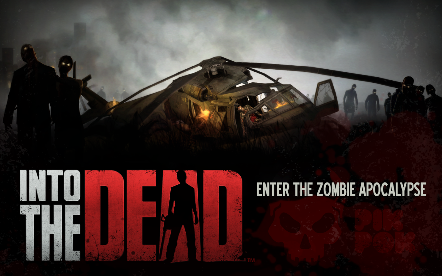 Into the Dead v1.8.1 APK+DATA [Unlimited Gold]