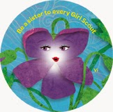 Vi the Violet (Violet), Be a Sister to Every Girl Scout
