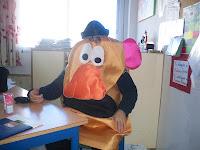el Sr. Potato vigila....