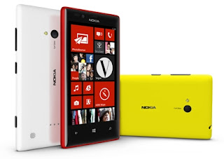 Nokia Lumia 720 different angles