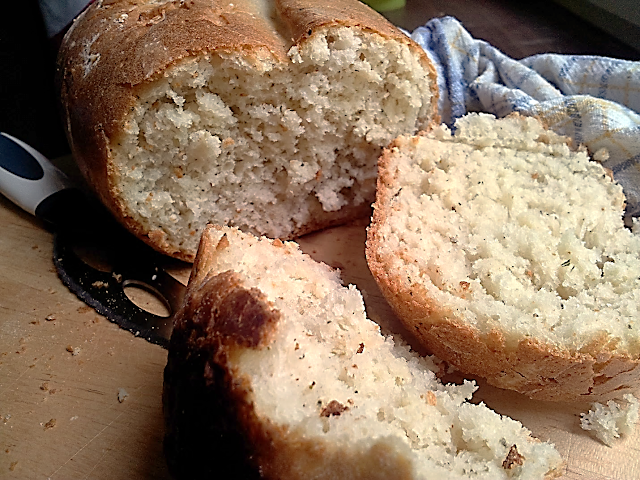 Рецепт белый хлеб с французскими травами форма Lekue
