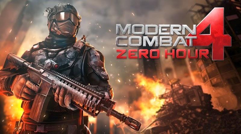 Modern Combat 4 Zero Hour v1.1.5 Apk