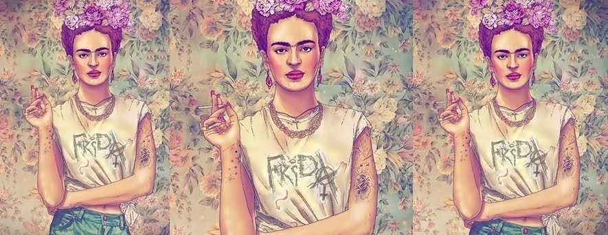 Frida is a punk rocker!