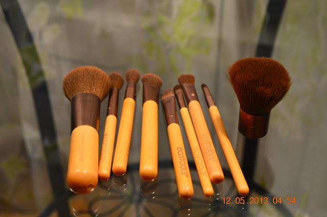 Ecotools, Make up brushes, Make up