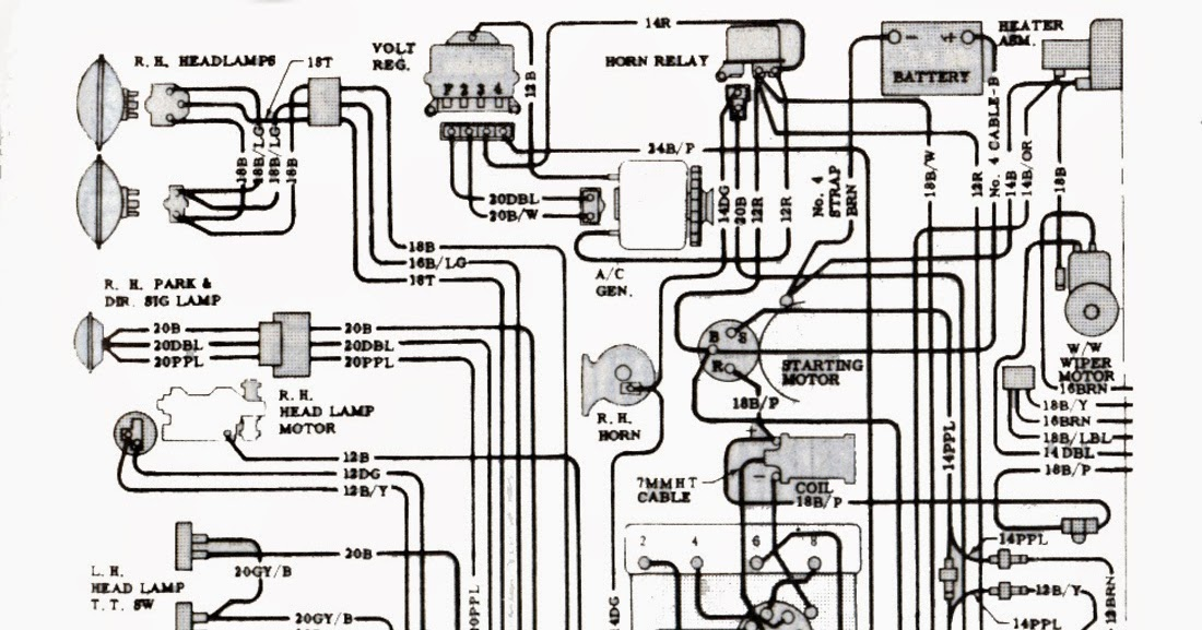 phscollectorcarworld: Tech Series: 1965 Chevrolet Corvette Wiring Diagrams,  Engine, Fuse Panel & Body | 1965 Corvette Wiring Diagram |  | phscollectorcarworld