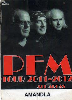 Pass PFM tour 2011-2012
