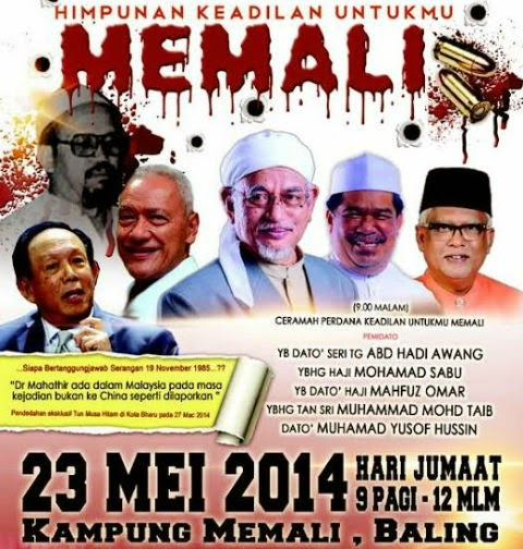 """ MALAYS MASSACRED MALAYS!"
