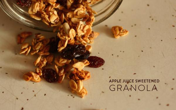 ... granola last week in class this wasn t your regular granola instead of