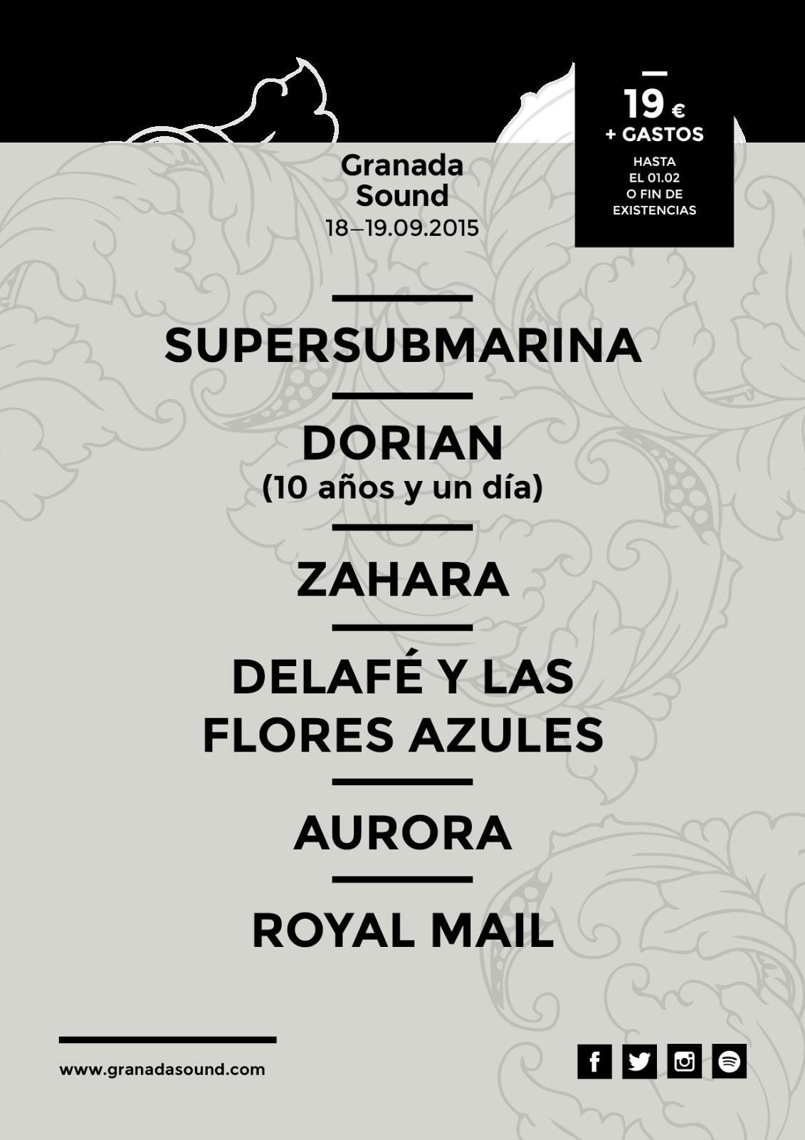 Granada Sound festival 2015