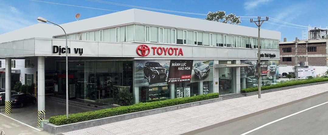 Trang thông tin chính thức của Toyota Thái Nguyên - Đại lý chính hãng