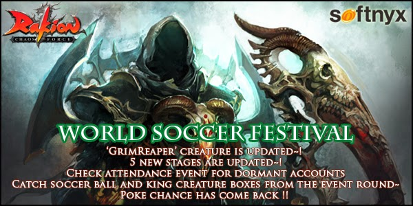 Rakion Chaos Force, World Soccer Event