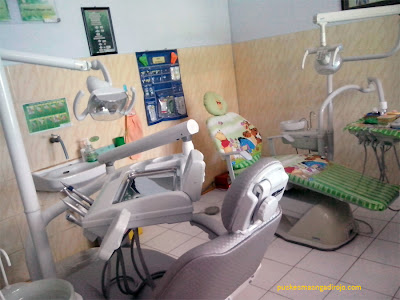 fasilitas 2 unit dental unit