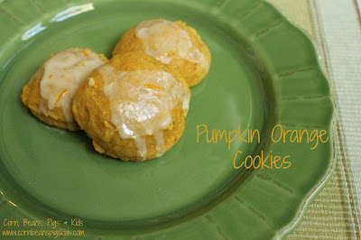 Pumpkin Orange Cookies #AEdairy #ad