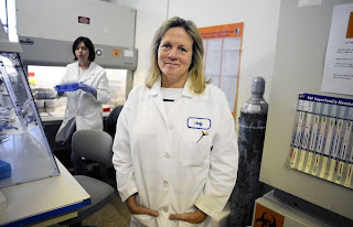 Judy Mikovits, lead researcher at the Whittemore-Peterson Institute, believes the retrovirus XMRV is linked to chronic fatigue syndrome. But other researchers say that link cannot be found. (David B. Parker, Reno Gazette-Journal / March 17, 2011)