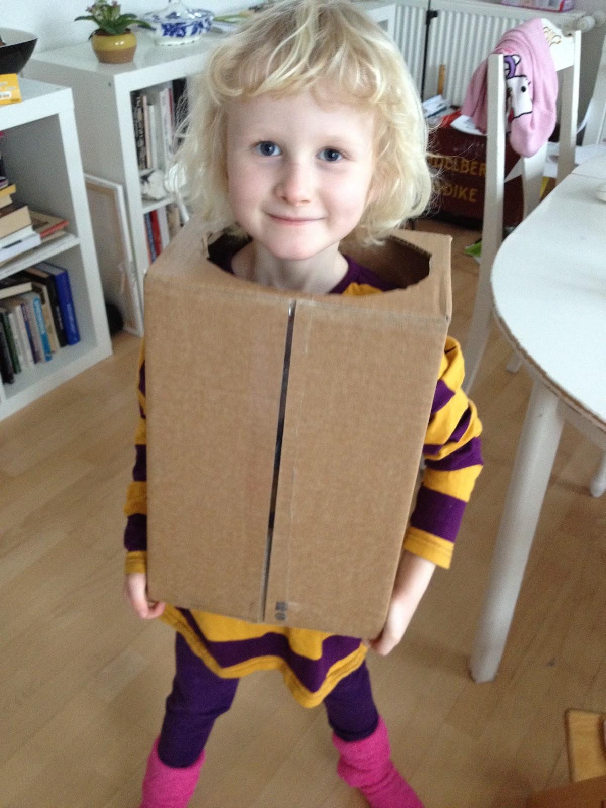Hjemmelavet udklædning børn