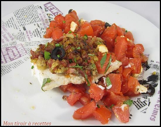 poisson à la grecque