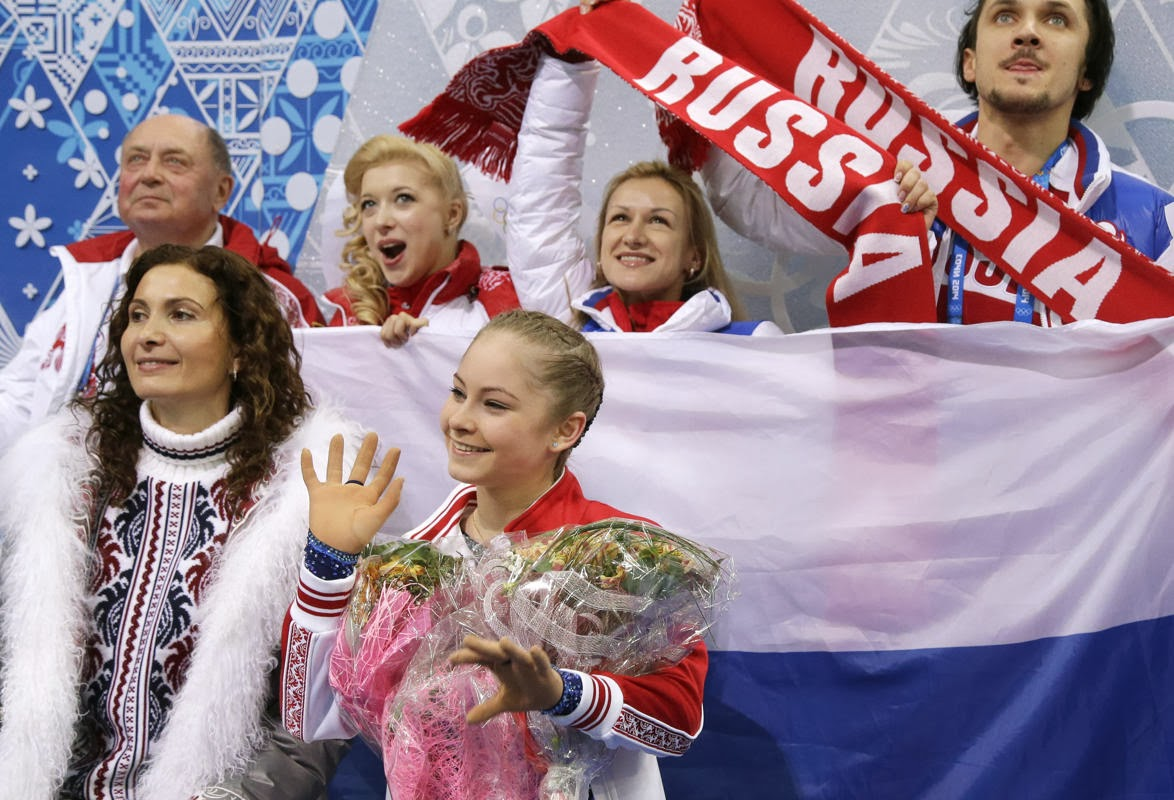 Sochi Games, Julia Lipnitskaia, Ashley Wagner, Russia, Winter Olympics