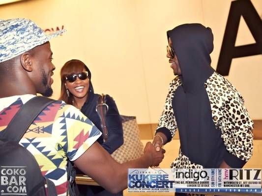 Iyanya's arrival in London + meet and greet with fans