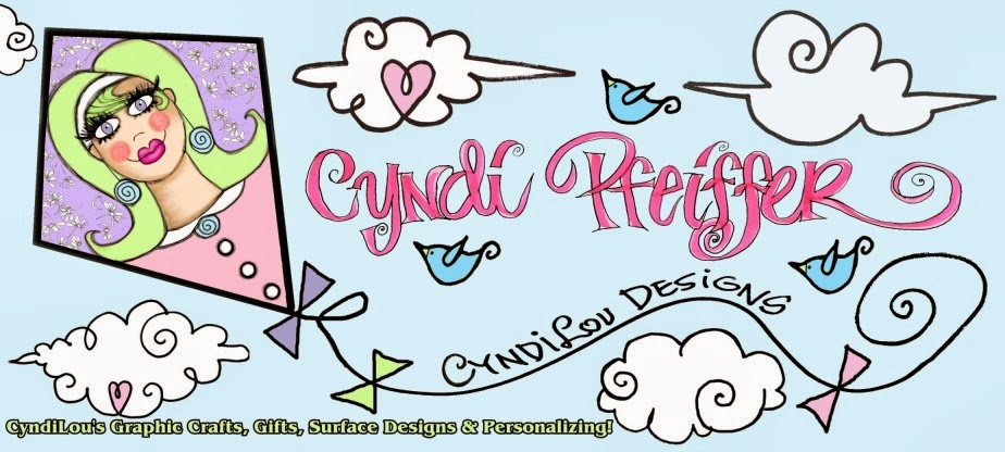 CyndiLou's                                   Graphic Crafts!