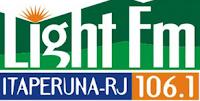 ouvir a radio Light FM 106,1 ao vivo e online Itaperuna