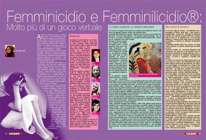 Femminicidio e Femminilicidio