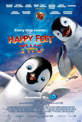 Happy Feet 2 Two movie poster film review