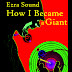 Sept 2011 Book Cover Award Entry #5 | Ezra Sound: How I Became a Giant | Designed by M. W. Fowler
