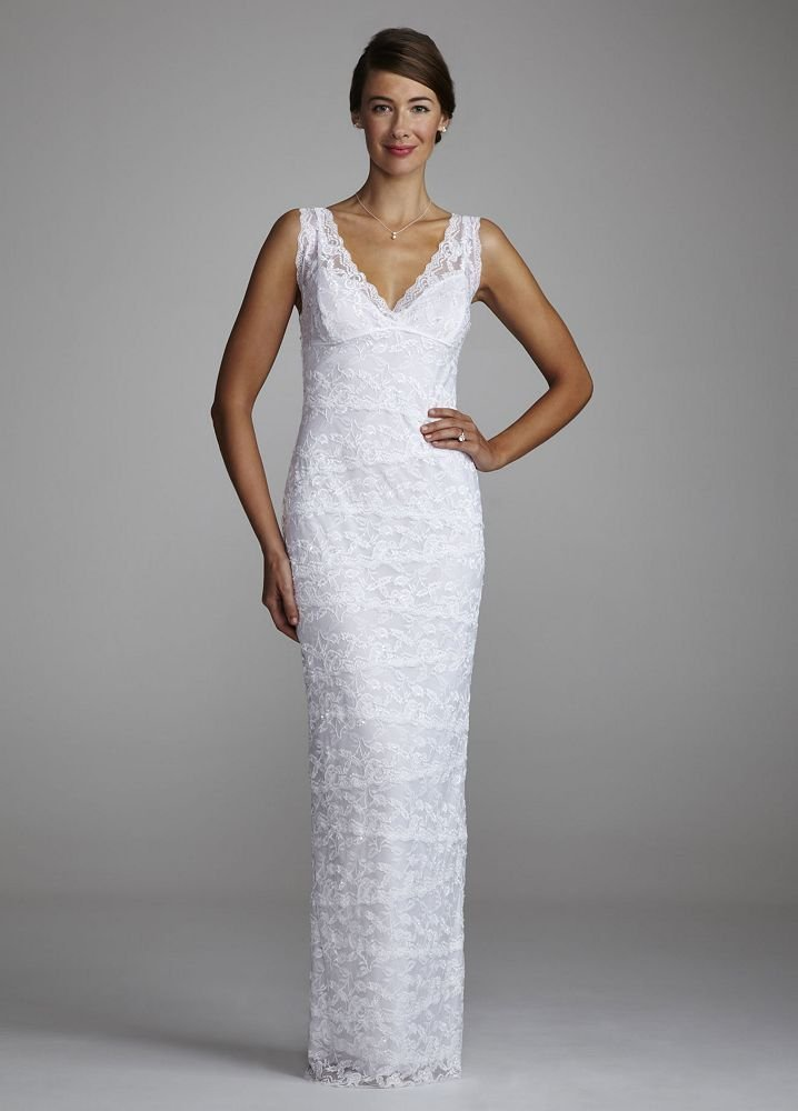 sheath davids bridal wedding dresses