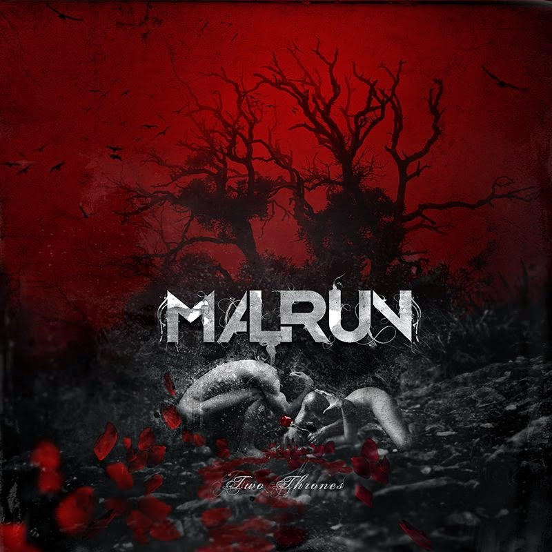 Malrun - two thrones - album - cover