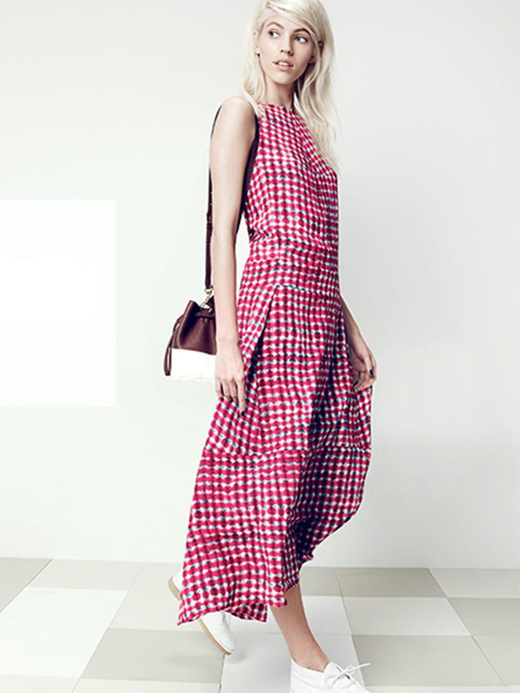 Carven dress, Sofia Richie