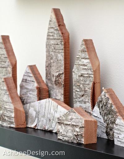 brzoza design drewniane inspiracje drewniane DIY eco manufaktura