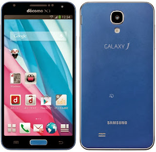 Samsung announced to Japan in the NTT Docomo new Galaxy J