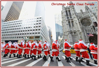 Santacon 2015 Christmas Santa Claus Parade Live Wallpapers