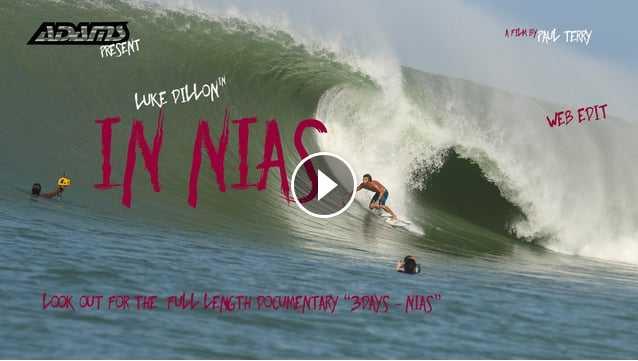 Luke Dillon In Nias - The Century Swell - Web Edit