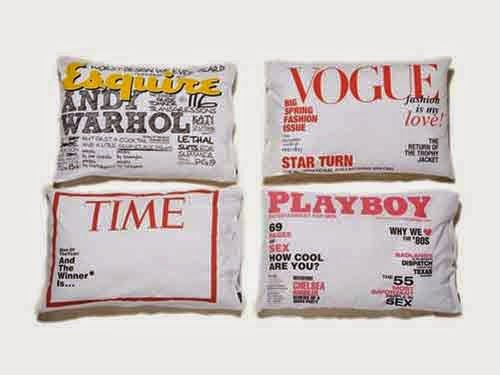 Creative Magazine Cover Pillowcases