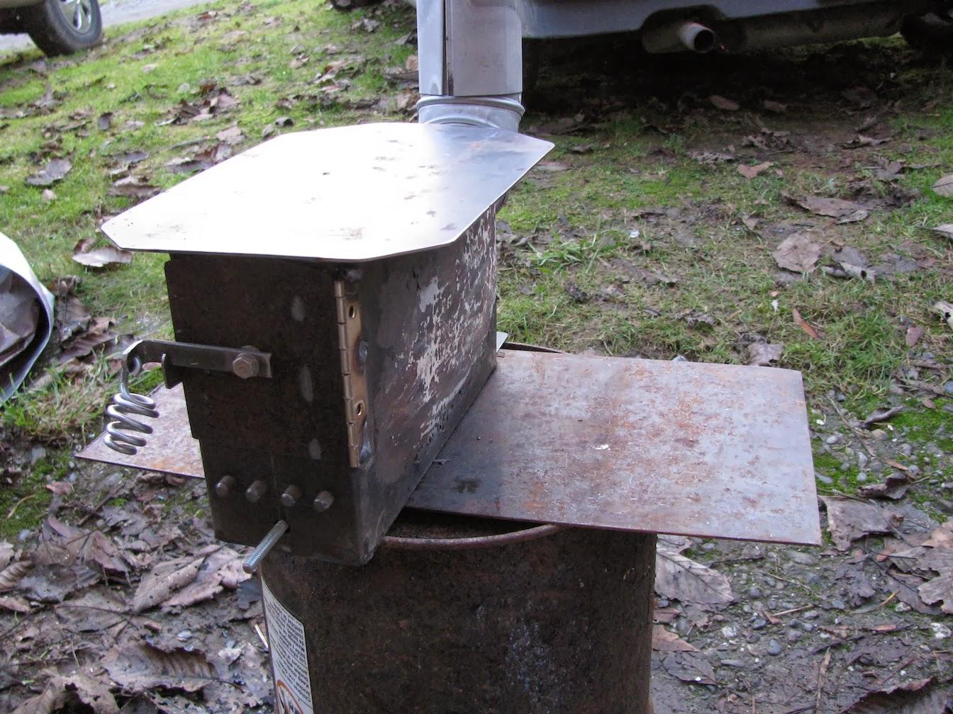 Amo box stove creative ideas elkins diy for Diy cooking stove
