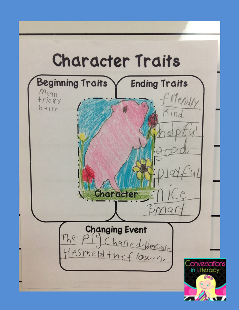 Teaching How Characters change with Folktales