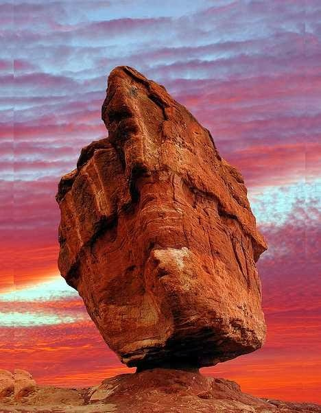 Balanced Rock, Colorado, USA