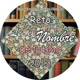 Banner reto lee el nombre de tu blog 2013