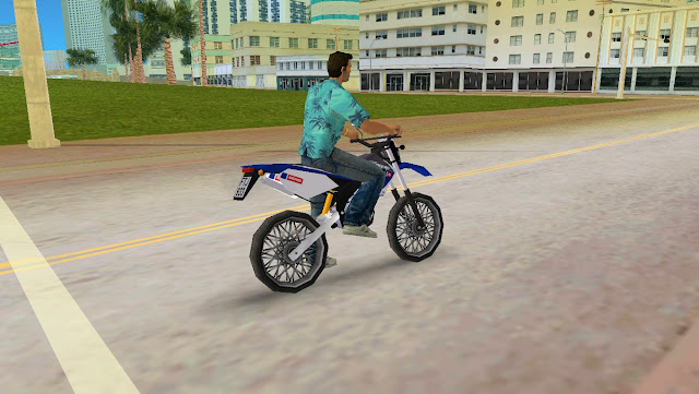 Derbi Senda X-Treme Enduro GTA Vice City