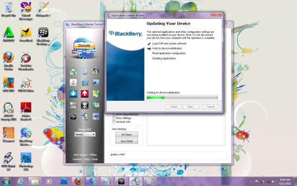 Cara Mengatasi Error 507 (Blackberry)