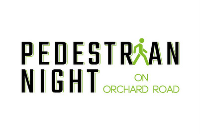 Pedestrian Night on Orchard Road.