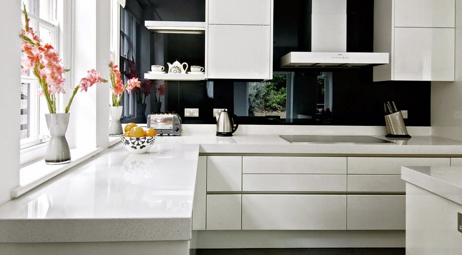 Un espejo en la cocina mi casa es feng - Pared de vidrio ...