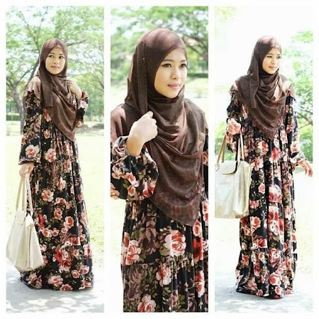 Floral Dress Ready Stock Fit To XXL (44). Ada 11 Warna Menawan