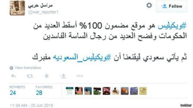 أسباب تسريب وثائق ويكيليكس السعودية في هذا التوقيت